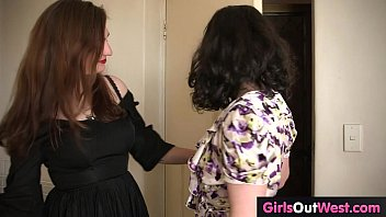 Hairy Australian brunette babes lick pubes in the kitchen thumbnail