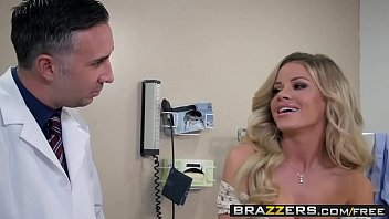 Brazzers - Doctor Adventures - A Dose Of Cock For Co-Ed Blues scene starring Jessa Rhodes and Keiran thumbnail