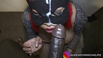 Instagram Model @queendominicanlipz Makes BBC Cum 3 Times In 2 Minutes-All Facials-DSLAF