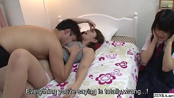 Subtitled Jav Insane Mother Gives Daughter Sex Ed Lesson 5 Min