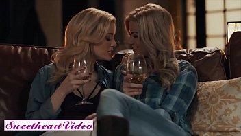 Blonde lesbians (Charlotte Stokely, Serene Siren) make love - Sweet Heart Video