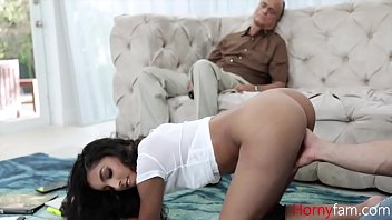 Dad Sleeps And Sister Fucks Brothers- Claire Black