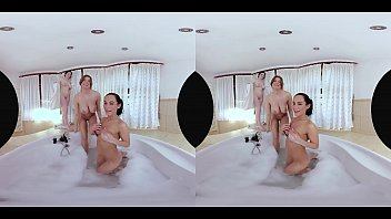 Lexi Has an Amazing Time With Her Big-Breasted Friends in the Bath thumbnail