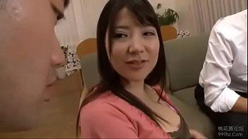 Marina yuzuki blowjob in the kitchen