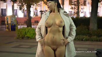 Nude tall flash tits - Night flashing. walk naked in public.