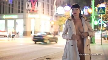 Night Flashing. Walk naked in public. thumbnail