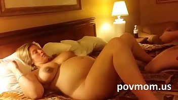 Mom has sex with stranger - Very young pregnant wife great tits fucked a stranger for wanna be mom povmom.us