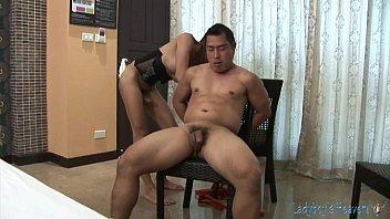 Threesome ladyboy bondage action 7分钟