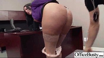 (diamond kitty) Big Tits Horny Office Girl In Sex Tape clip-16