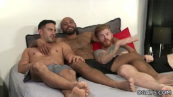 Gay pride memorial day weekend Bareback anal 3some - cesar rossi, bennett anthony, leo forte