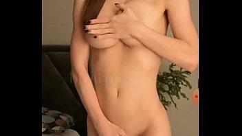 Beautiful Athletic Busty Masturbating