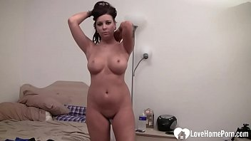 Lovely girl Lilly is dancing for you passionately
