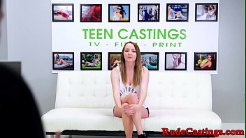 Cockriding Teen  Tiedup And Gagged At Casting ged At Casting