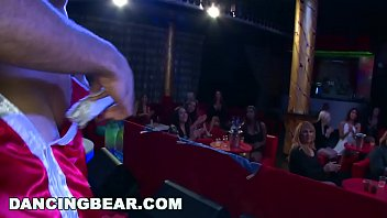 DANCING BEAR - Bunch Of Party Animals At This CFNM Bachelorette Party thumbnail