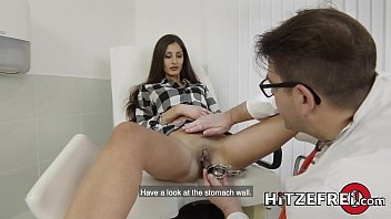 HITZEFREI Dr Lust at it again with petite Coco Kiss