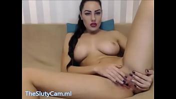 perfect brunette masturbates closeup cam - www.TheSlutyCam.ml