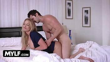 Blonde MILF Fucks Me While Her Husband's Fucking My Girlfriend- Rachael Cavalli