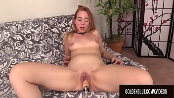 Machine induced orgasm - Attractive mature sable renae mercilessly plowed by a machine till she cums