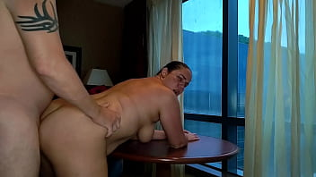 Wife fucked in window of a Casino Resort in Salamanca NY - Becky Tailorxxx