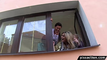 Horny Eurobabes Trick Guy Into House Part 1