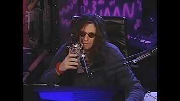 20 year old gives Howard Stern a handjob and licks his toes under the desk