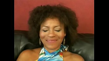 Jeannie pepper milf - Mature busty black lady jeannie pepper with curly hair is always glad to taste young hard schlong