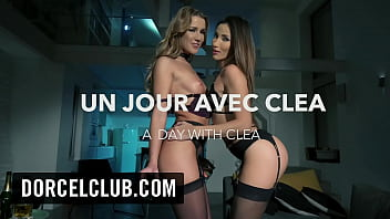 DORCEL TRAILER - A day with Clea Gaultier porno izle
