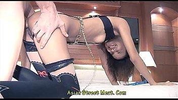 Eager Three Hole Willing Thai Street Girl 9 Min