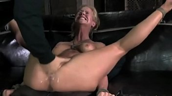 MILF Fucked To Tears Crying in Pain Until to Squirt by AssholePunisher porno izle