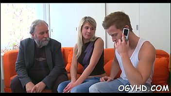 Old guy fucks pretty young girl - Old guy wishes for young hole