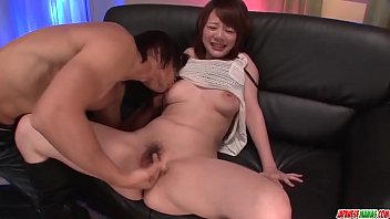 Arisa Araki amazing boobs play and home sex in pov - More at Japanesemamas com