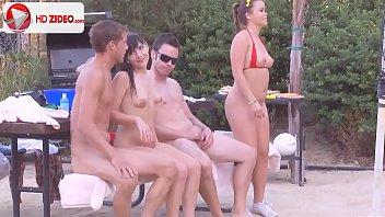 Ashli Orion How to make badminton interesting Kaci Starr HD Porn;