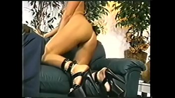 Young blonde cutie Cassie with tattoed brest allows black fellow to meddle with her