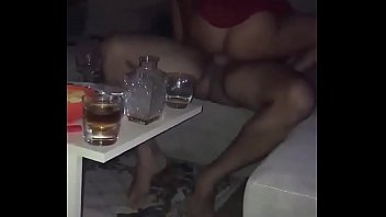 Sex with my friend's wife while he records and masturbates