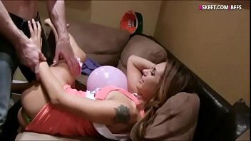 Bachelorette party turns to crazy orgy with horny dude