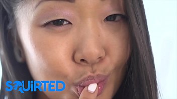 Asian babe (Saya Song) plowed hard squirts all over - Squirted thumbnail