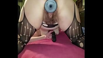 Hubby beats my ass up