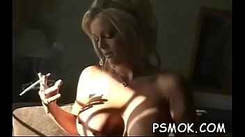 Touching balls naked Sexy babe touches herself whilst relishing a cigarette