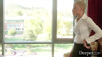 Deeper. Arie Faye Seduces her Boss While Wife is Away