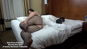 BBW Naia Bee Plays Footsies With You