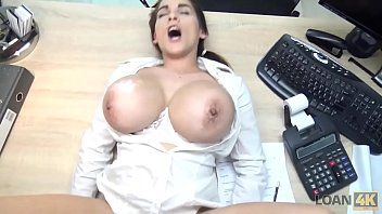 LOAN4K Hot Misc hel Lee has to pay for her boo pay for her boobs so she uses th