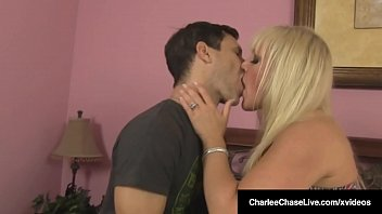 Busty Milf Charlee Chase Fucks Hubby With Alexis Golden!