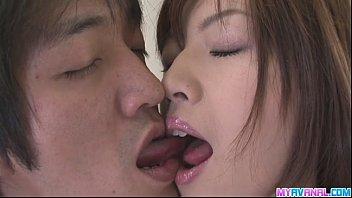 Hot Amateur Hanai Kanon Gets A Mean Creampie