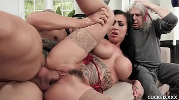 Lily pink hair nude Big tit lily lane cucks her husband by fucking the well endowed chauffeur