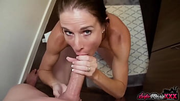 Sexy Goddess Sofie Marie Gives A Perfect Wet POV Blowjob
