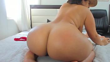 Latina girl with huge ass