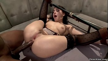 Bound Doctor Anal Fucked By Black Cock