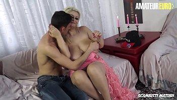 SCAMBISTI MATURI - BBW Romanian MILF Nadia Fucks On Cam With A Big Cock Italian Lover 14 min