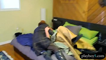 First time swingers couple enjoy an orgy bang at a house 6 min