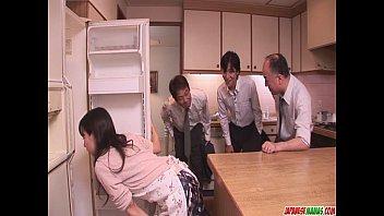 Chihiro Kitagawa Handles Many Dicks Without Fucking Them 8 min